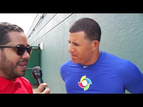 Entrevista Manny Machado, WBC 2017 en Bradenton, FL