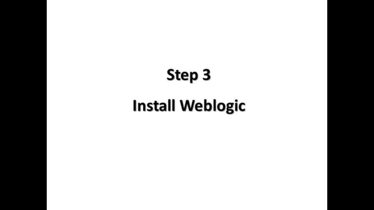 OBIEE 12c Installation ( Linux )