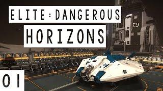 Elite: Dangerous Horizons Gameplay - #01 - Planetary Landings Beta! - Let