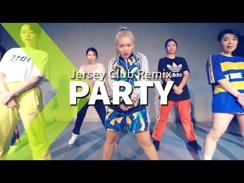Chris Brown - Party (Jersey Club Remix) / LIGI Choreography.