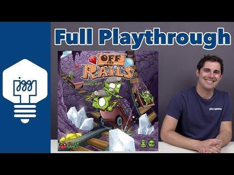 Off the Rails Full Playthrough - JonGetsGames