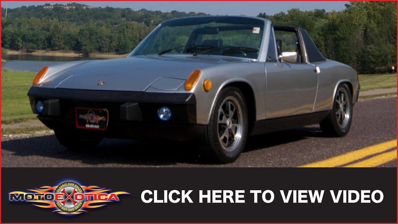Porsche St Louis >> 1974 Porsche 914 2.0 (SOLD) - YouTube