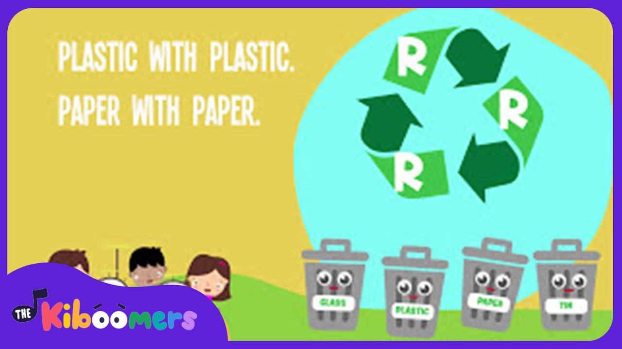 Reduce Reuse Recycle Song for Kids | Earth Day Songs for Children ...