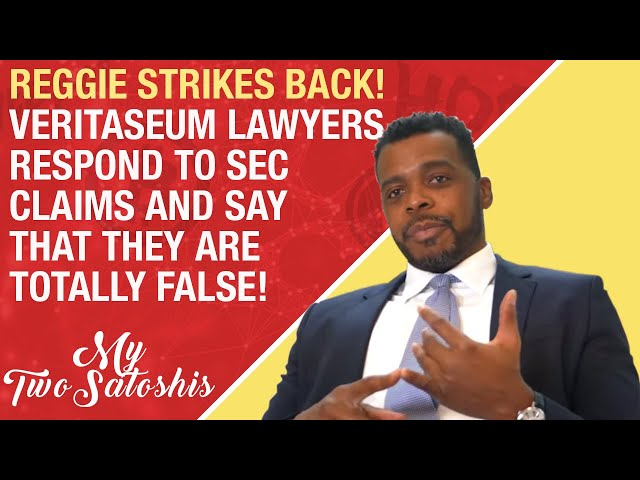 Reggie Middleton from Veritaseum Strikes Back at SEC with Response to Allegations