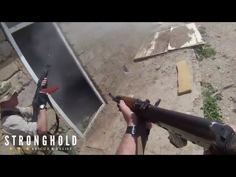 Iraq GoPro Combat  - Navy Seal Sniper Assaults ISIS Held House In Close Combat Near Mosul