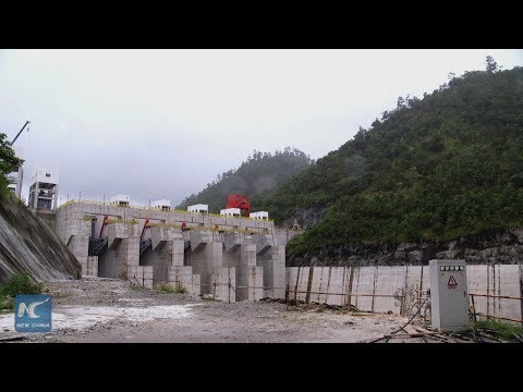 Chinese company completes work on huge dam in Honduras