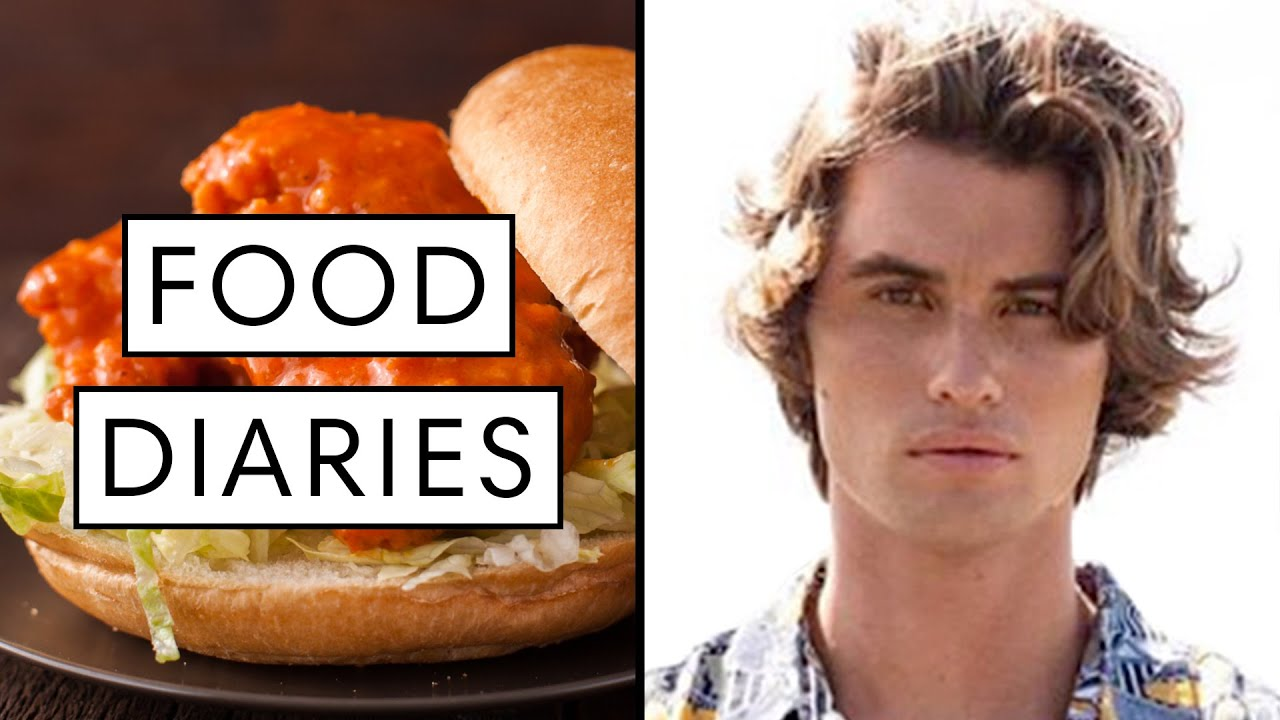 Everything 'Outer Banks' Star Chase Stokes Eats in a Day | Food Diaries: Bite Size | Harper's BAZAAR