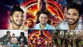 Indian reaction|AVENGERS INFINITY WAR  CHARCHAY | MINOR SPOILERS  | AWESAMO SPEAKS | M BROS REACTION