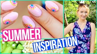 SUMMER INSPIRATION - DIY NAILDESIGN, SNACK & OUTFIT - TheBeauty2go