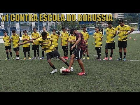 DESAFIO VS ESCOLINHA DO BORUSSIA DORTMUND FC