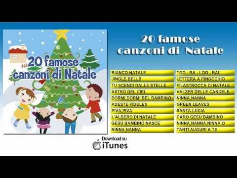 20 famose canzoni di Natale