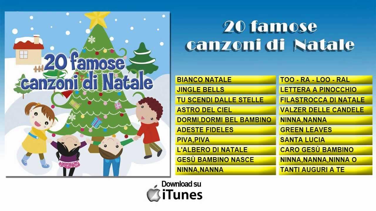 Un vasto repertorio di canzoni natalizie e recite musicali con mille storie, personaggi, messaggi: 20 Famose Canzoni Di Natale Youtube