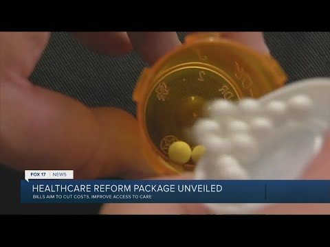 Healthcare reform package unveiled