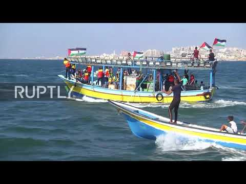 State of Palestine: 'Freedom Ship 3' flotilla attempts to br