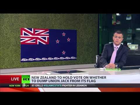Tim Beal at RT International on New Zealand national flag referendum
