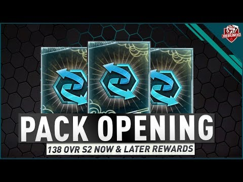 FIFA MOBILE 18 S2 138 OVR Now & Later Rewards Pack Opening #FIFAMobiles2 Season 2 Rewards