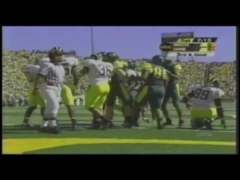2003 - (4) Oregon vs #5 Michigan