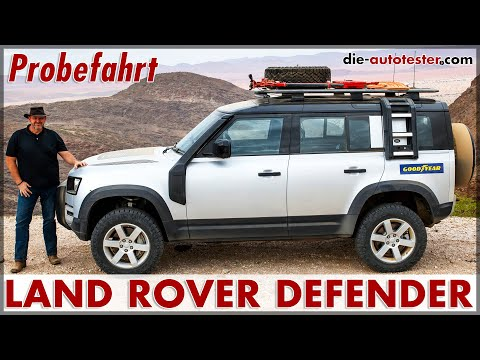 2020 Land Rover Defender 110 D240 & Defender 110 P400 Test Neu Motor Fakten Off-Road Review Deutsch