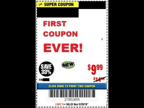 Harbor Freight Coupon Price Tracking Never Before Seen Coupons