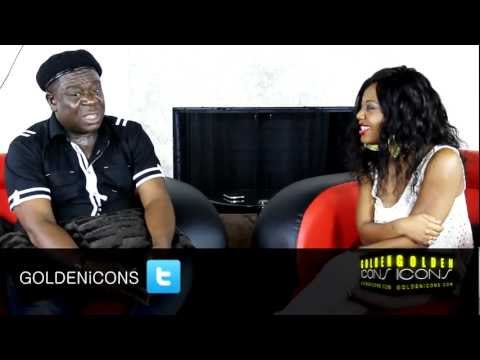 Mr Ibu's Interview - Part 1 - Exclusive Interview with John Okafor - by Golden Icons