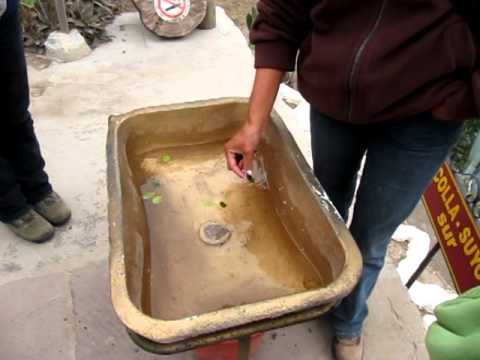 Equator Sink Demo At Museo De Sitio Inti 241 An Quito
