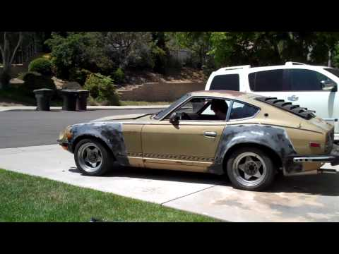 Video #8 - I BLAME CHIP FOOSE FOR THIS!!!  Datsun 260Z Rebuild