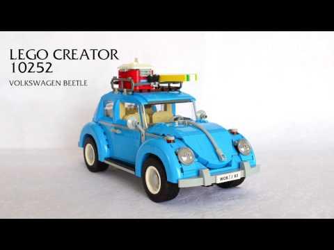 Lego Creator 10252 - Volkswagen Beetle Yapımı (making time lapse)