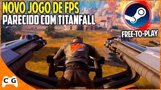 Novo Jogo de Tiro FPS Online da Steam Parecido Com Titanfall - Disintegration Gameplay