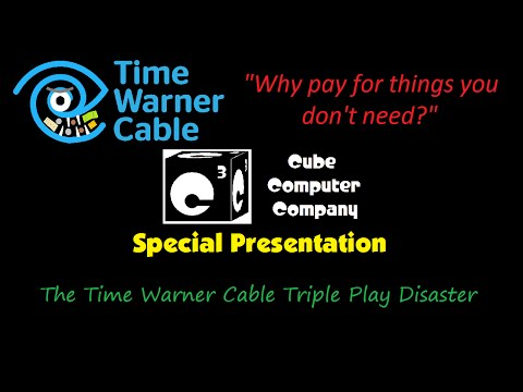 The Time Warner Cable Triple Play Disaster