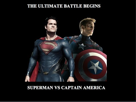 Superman vs Captain America Fan Trailer