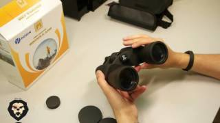 Бинокль NORIN 10-40x50 CB (Видео-Обзор)