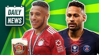 Barcelona will Neymar nicht zurück! Inter bietet für Nicolas Pepe! Dragowski dominiert Atalanta!