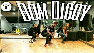 Bom Diggy Bollywood Dance Workout | Moin Khan | Zack Knight , Jasmin Walia | DanceFtness Choreo