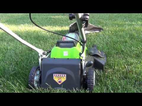 Greenwork 40 Volt Lithium Ion Rechargeable 19 inch Lawnmower