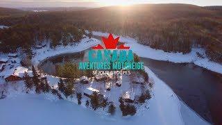 Canada Aventures Motoneige   Séjour Groupe