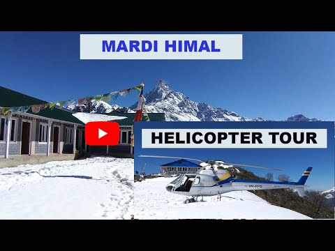Mardi Himal Helicopter Tour From Pokhara
