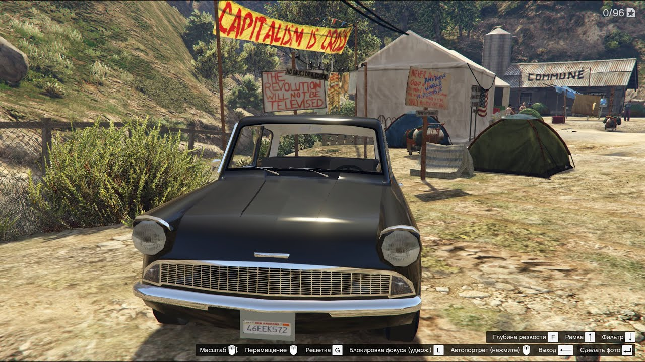 Gta 5 1959 Ford Anglia From Harry Potter Youtube