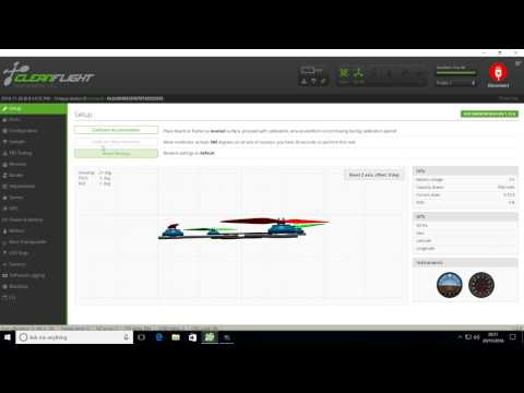 Cleanflight settings for Eachine Falcon 250 Pro (SP Racing)