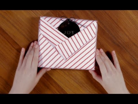 4 unique gift wrapping