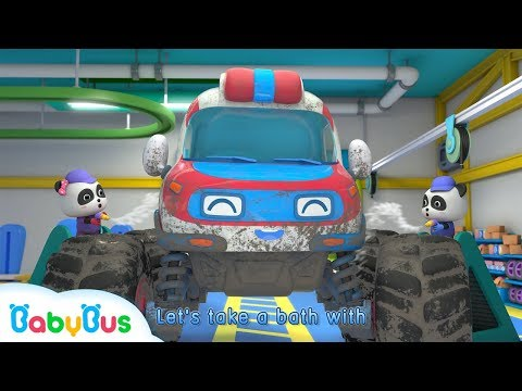 Monster Ambulance Got Injured | Monster Car Race | Baby Pand