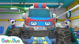 Download Monster Ambulance Got Injured | Monster Car Race | Baby Panda Mechanic | BabyBus Mp3 and Videos
