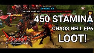 Video Best one? Loot from 450 Stamina EP6 CHAOS HELL STAGE - Kritika TWK download MP3, 3GP, MP4, WEBM, AVI, FLV September 2018
