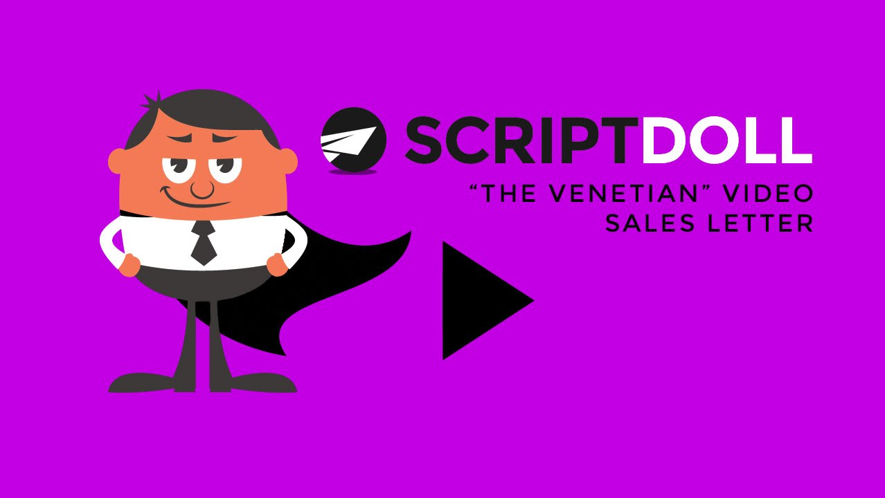 The Venetian Video Sales Letter Template Youtube