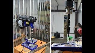 Unboxing, montaż i krótka recenzja wiertarki stołowej Einhell BD-BT 501
