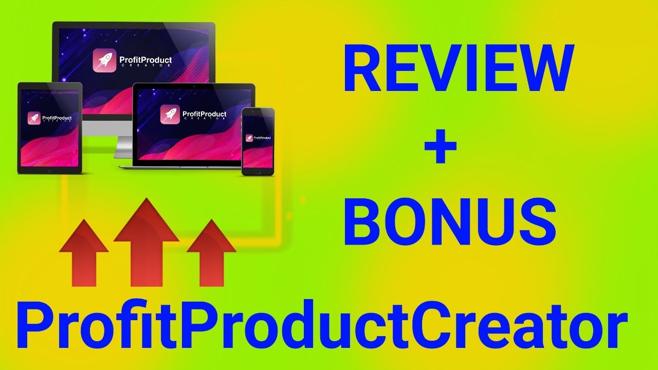 ProfitProductCreator Review and Bonus (2020) | THE WORLD'S FIRST 100% DONE-FOR-YOU DIGITAL PRODUCT