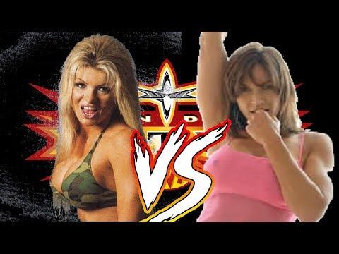 WCW Backstage Assault Major Gunns vs Kimberly Page