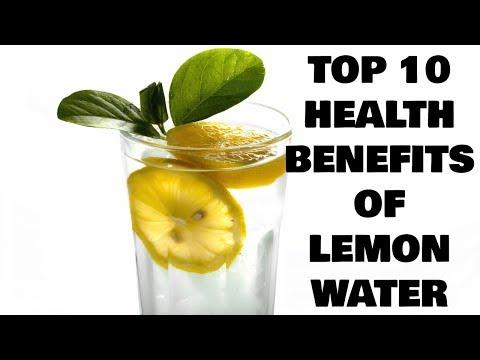 10 benefits of drinking warm lemon water/nimbu-pani.