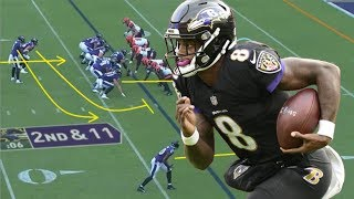 Film Study: How Lamar Jackson's incredible running ability brings so much to Baltimore's offense