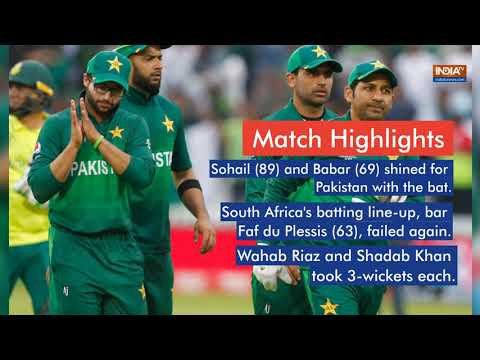 Pakistan knock South Africa out of 2019 World Cup