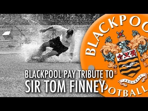 Blackpool Pay Tribute To Sir Tom Finney
